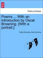 Poems ... With an introduction by Oscar Browning. [With a portrait.] als Taschenbuch