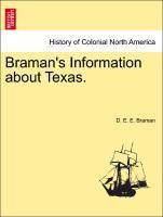 Braman's Information about Texas. als Taschenbuch