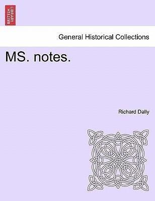 MS. notes. als Taschenbuch