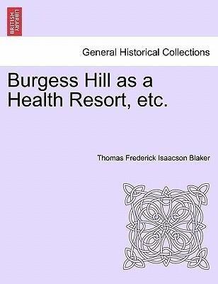 Burgess Hill as a Health Resort, etc. als Taschenbuch