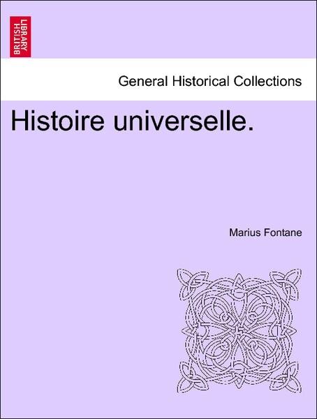 Histoire universelle. als Taschenbuch