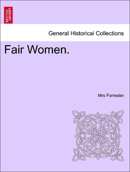 Fair Women.VOL.III als Taschenbuch