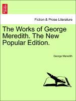 The Works of George Meredith. The New Popular Edition. als Taschenbuch