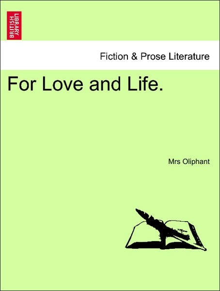 For Love and Life. VOL. III als Taschenbuch