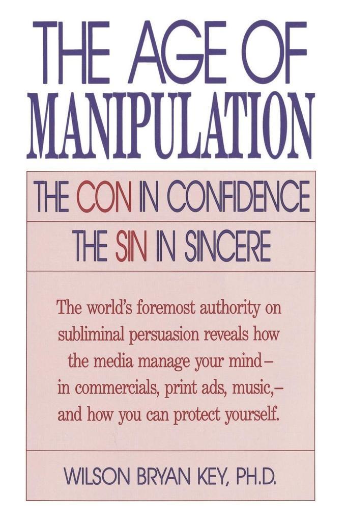 Age of Manipulation als Taschenbuch