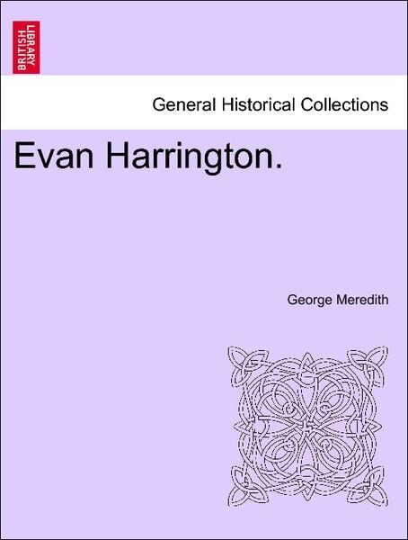 Evan Harrington. Vol. II. als Taschenbuch
