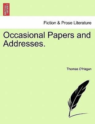 Occasional Papers and Addresses. als Taschenbuch