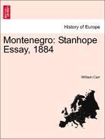 Montenegro: Stanhope Essay, 1884 als Taschenbuc...