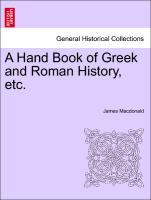 A Hand Book of Greek and Roman History, etc. als Taschenbuch