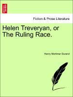 Helen Treveryan, or The Ruling Race. als Taschenbuch von Henry Mortimer Durand