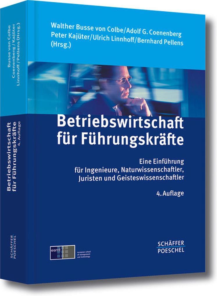 Betriebswirtschaft für Führungskräfte als eBook...