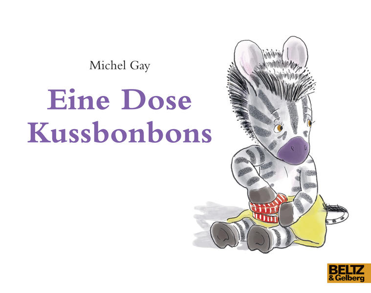Eine Dose Kussbonbons als Buch von Michel Gay
