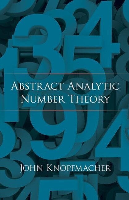 Abstract Analytic Number Theory als Taschenbuch