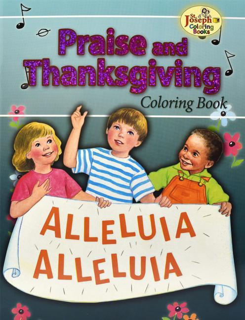 Coloring Book about Praise and Thanksgiving als Taschenbuch