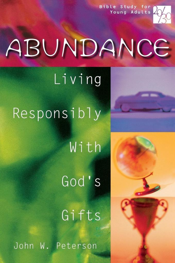 20/30 Bible Study for Young Adults Abundance als Taschenbuch