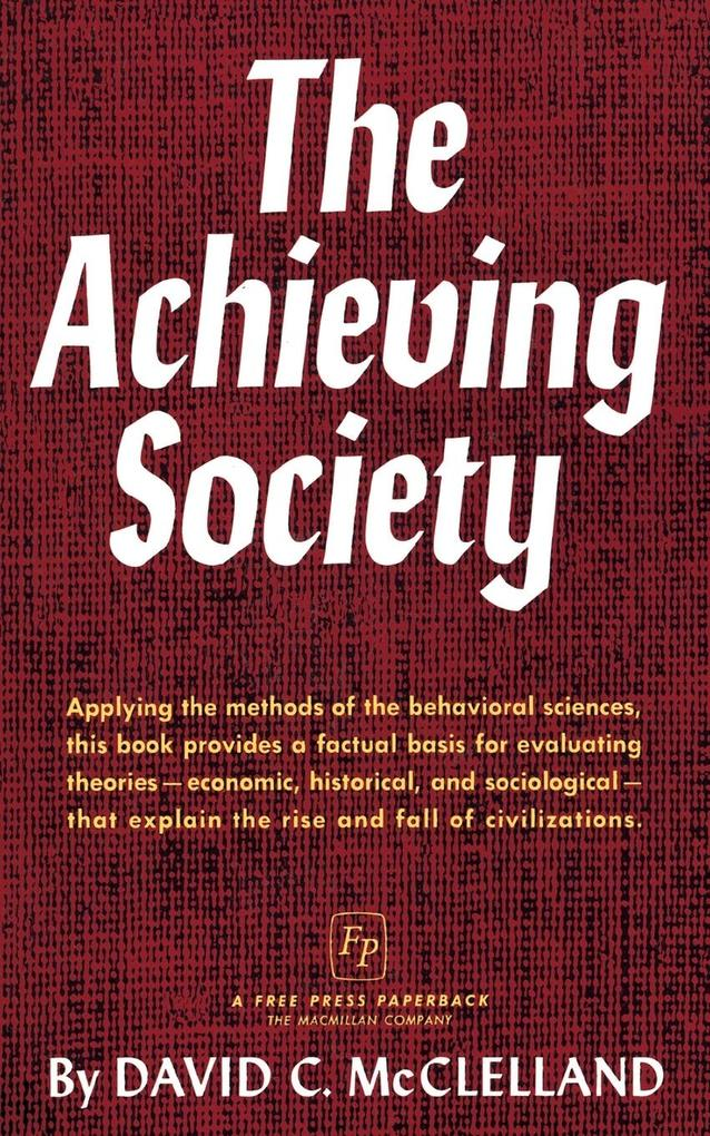 The Achieving Society als Buch