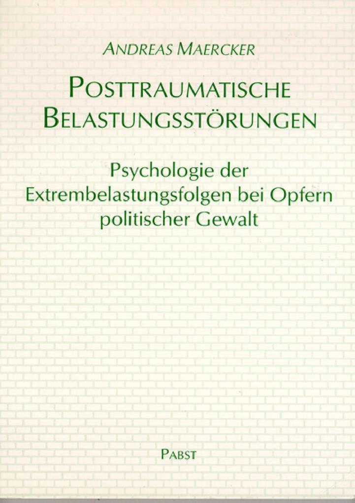 Posttraumatische Belastungsstörungen als eBook ...
