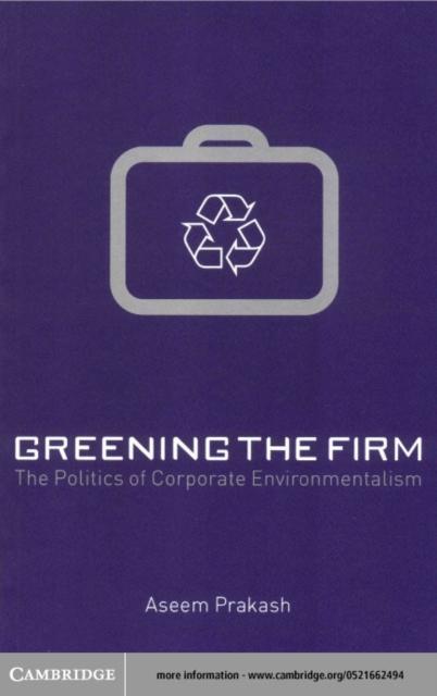 Greening the Firm als eBook Download von Aseem ...