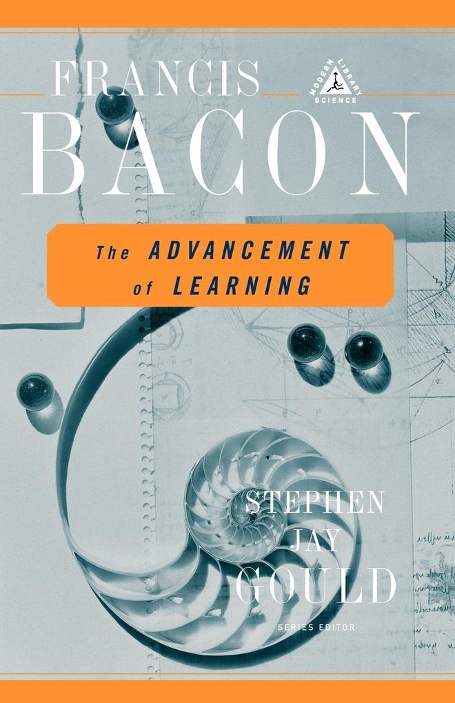 The Advancement of Learning als Taschenbuch