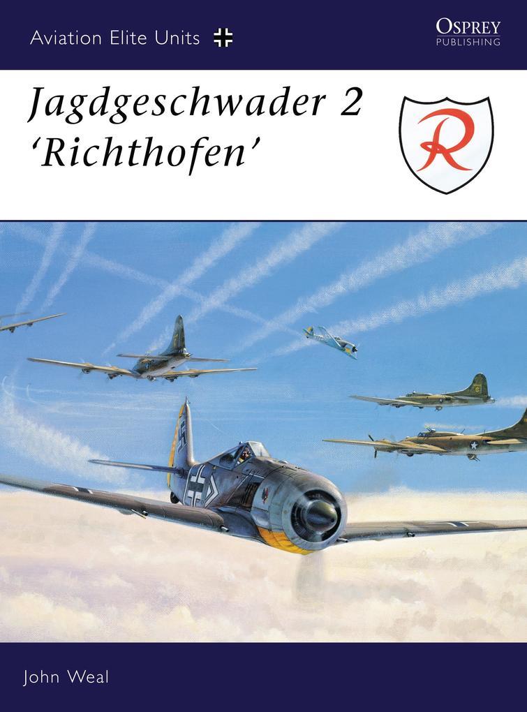 """Jagdgeschwader 2 """"Richthofen"""" als Taschenbuch"""