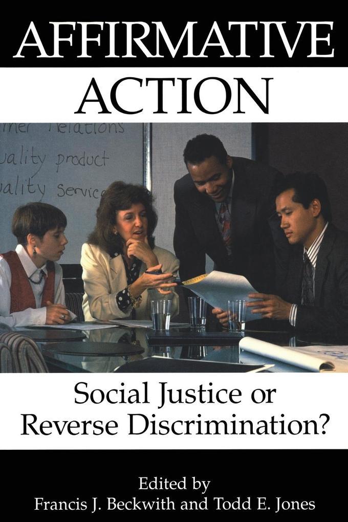 Affirmative Action als Taschenbuch