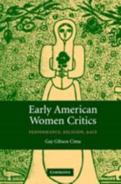 Early American Women Critics als eBook Download...
