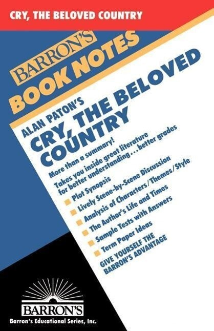 Alan Paton's Cry, the Beloved Country als Taschenbuch