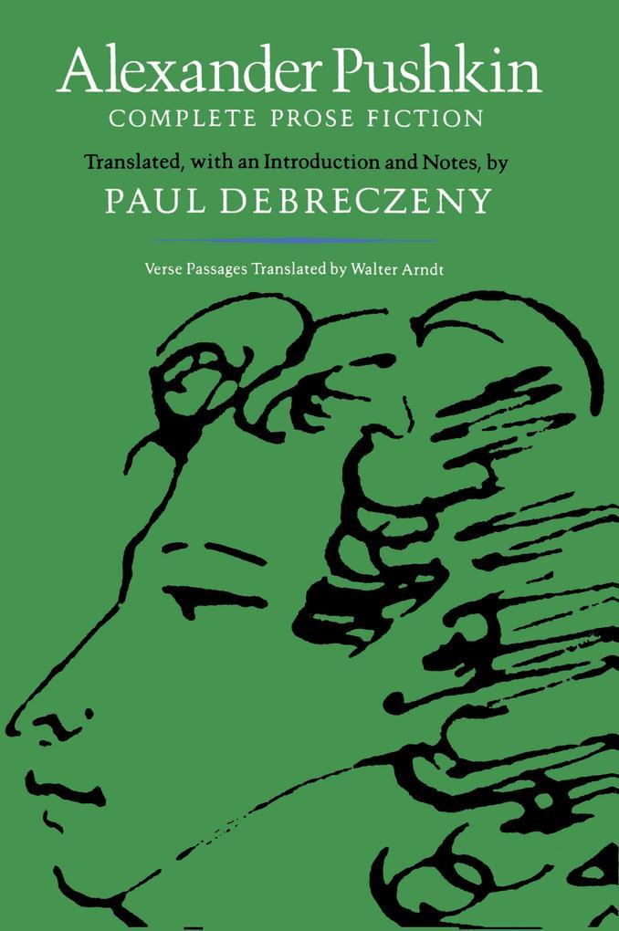 Alexander Pushkin: Complete Prose Fiction als Taschenbuch
