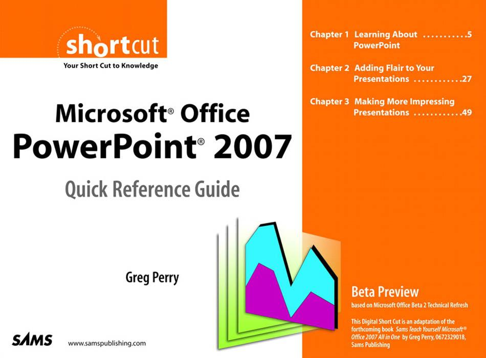 Microsoft Office PowerPoint 2007 Quick Referenc...