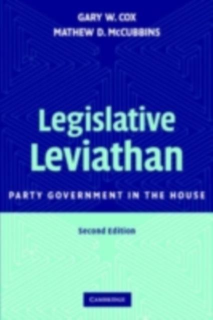 Legislative Leviathan als eBook Download von Ga...