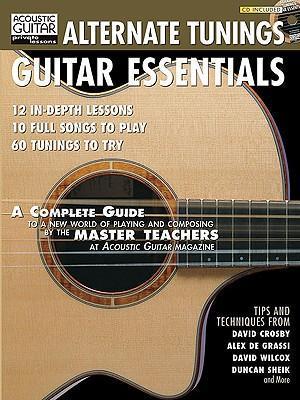 Alternate Tunings Guitar Essentials [With] als Taschenbuch