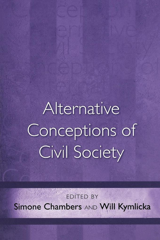 Alternative Conceptions of Civil Society als Taschenbuch
