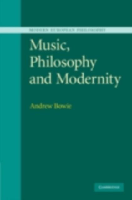 Music, Philosophy, and Modernity als eBook Down...