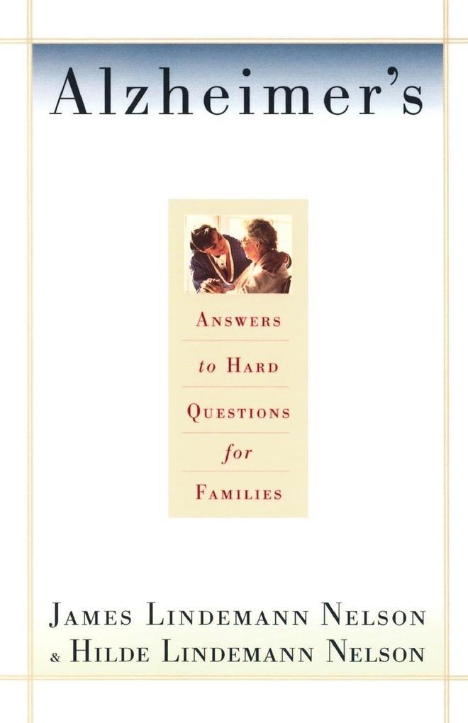 Alzheimer's Hard Questions als Taschenbuch