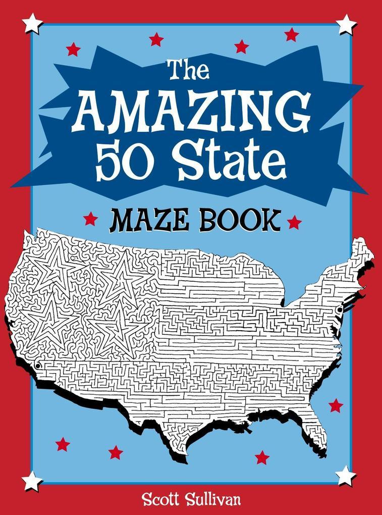 The Amazing 50 State Maze Book als Taschenbuch