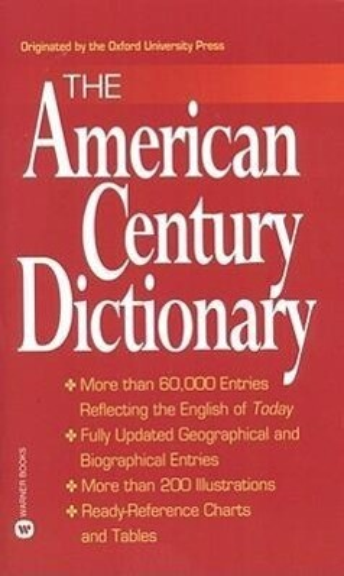 American Century Dictionary als Taschenbuch