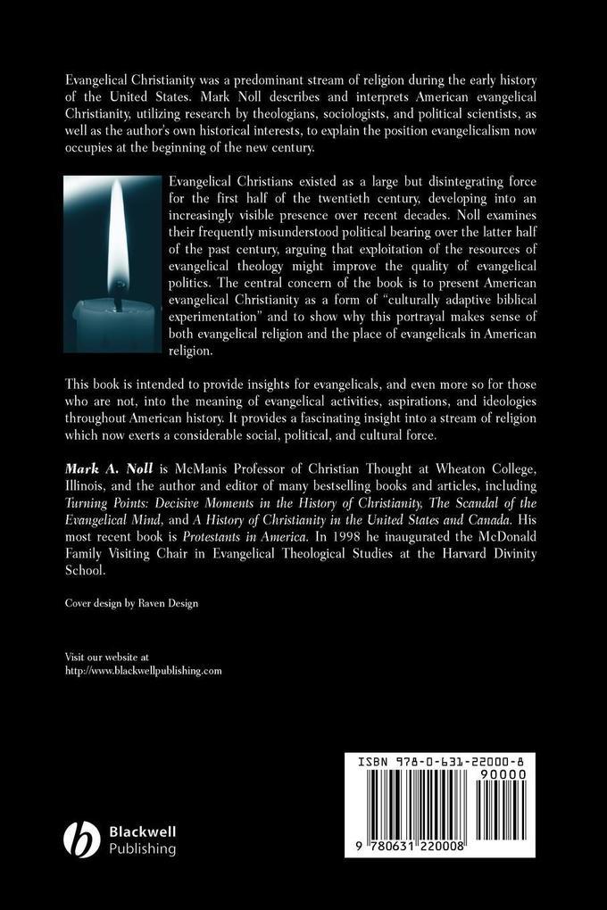 American Evangelical Christianity: An Introduction als Taschenbuch
