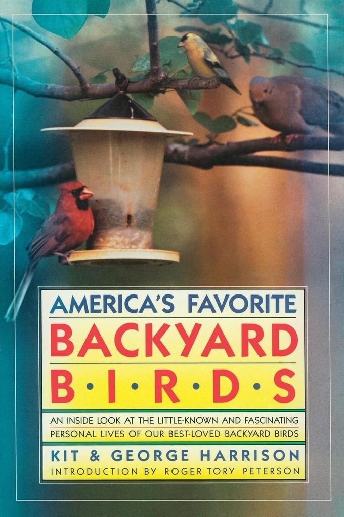 America's Favorite Backyard Birds als Taschenbuch