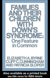 Families and Their Children with Down´s Syndrom...