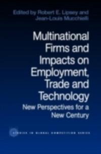 Multinational Firms and Impacts on Employment, ...