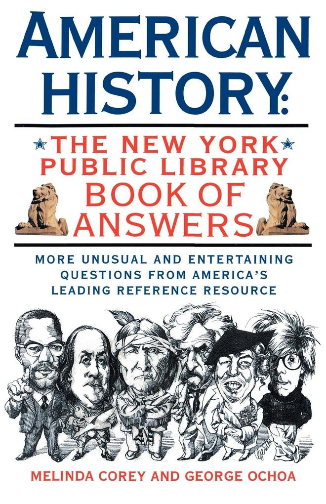 American History: The New York Public Library Book of Answers als Taschenbuch