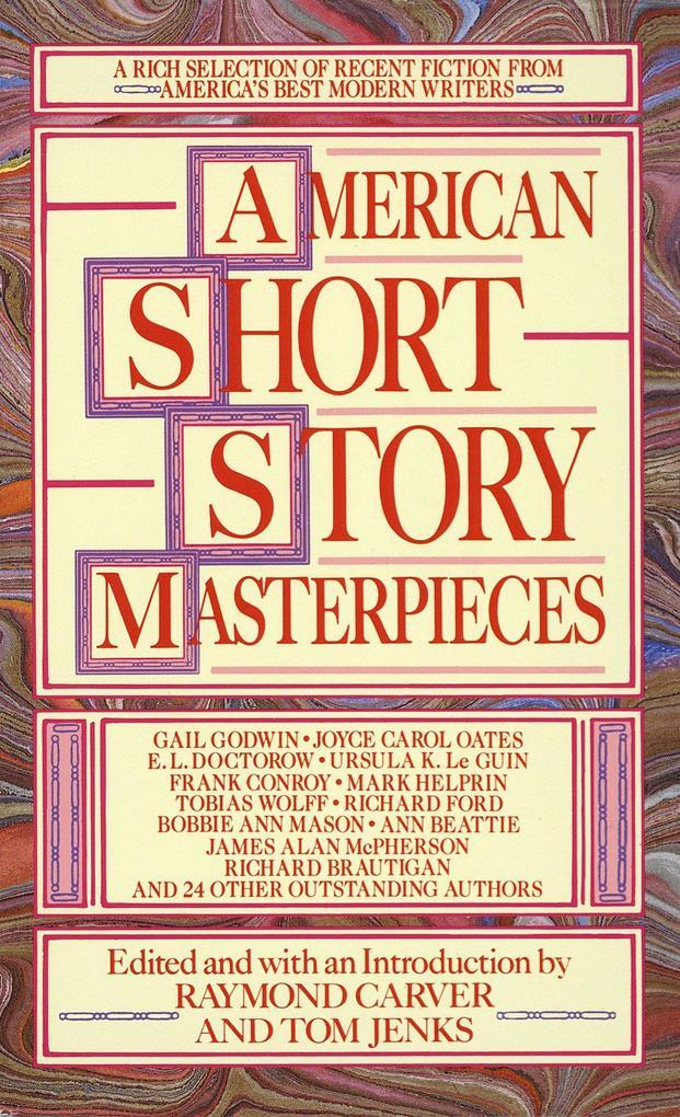 American Short Story Masterpieces als Taschenbuch
