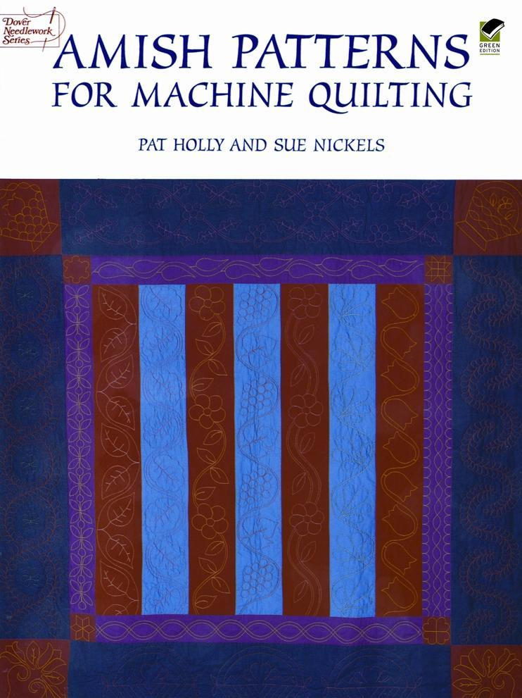 Amish Patterns for Machine Quilting als Taschenbuch