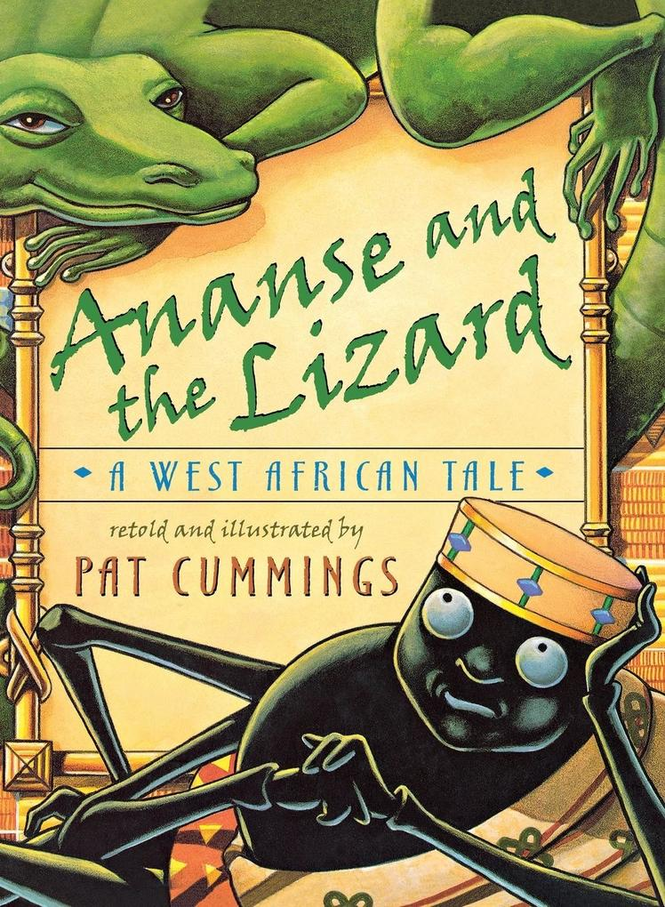 Ananse and the Lizard als Buch