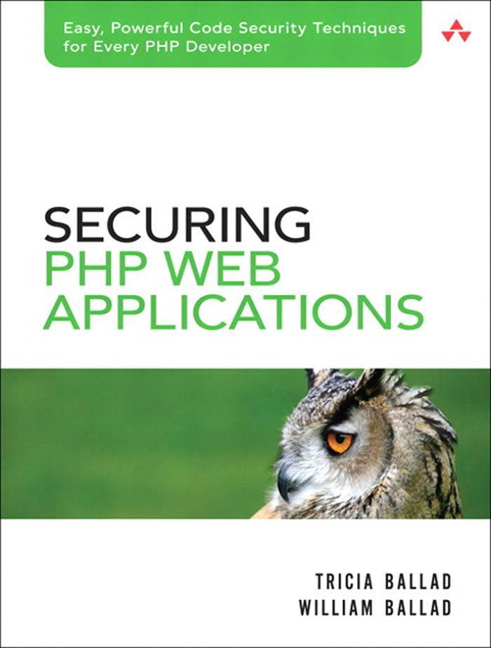 Securing PHP Web Applications als eBook Downloa...