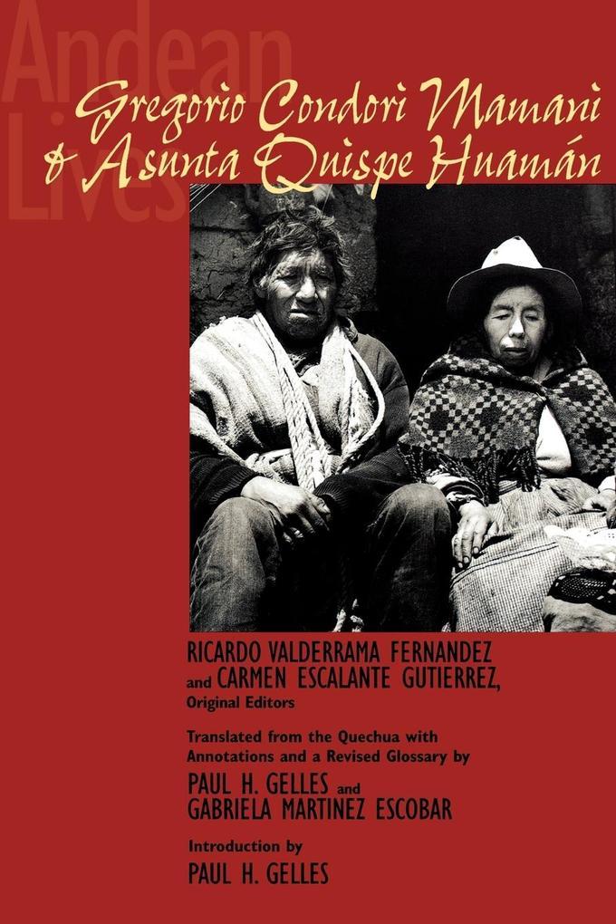 Andean Lives als Taschenbuch