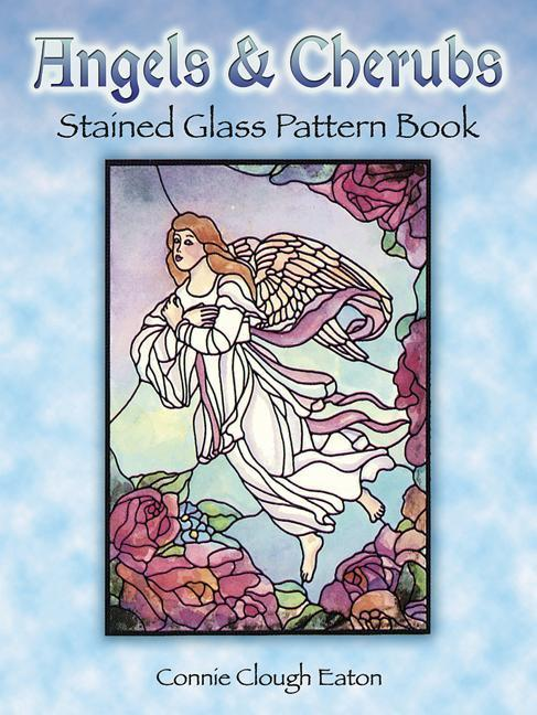 Angels and Cherubs Stained Glass Pattern Book als Taschenbuch