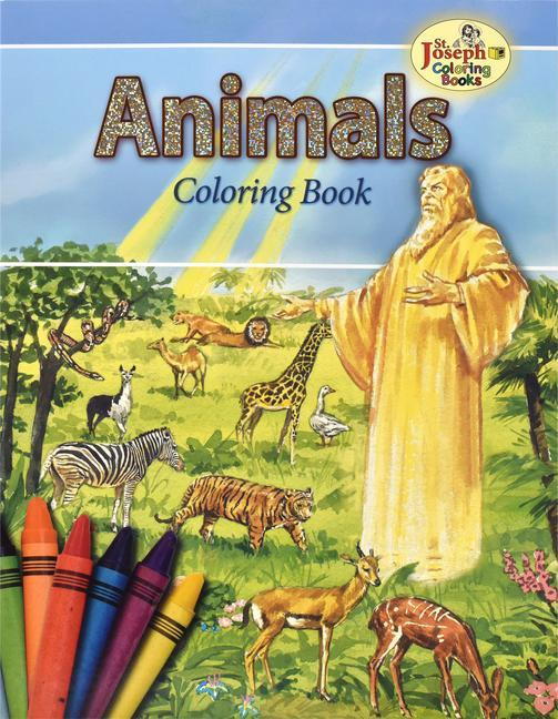 Animals of the Bible Coloring Book als Taschenbuch