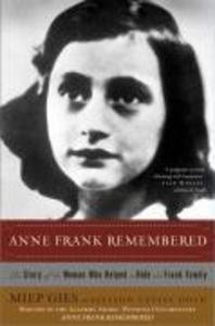 Anne Frank Remembered als Taschenbuch