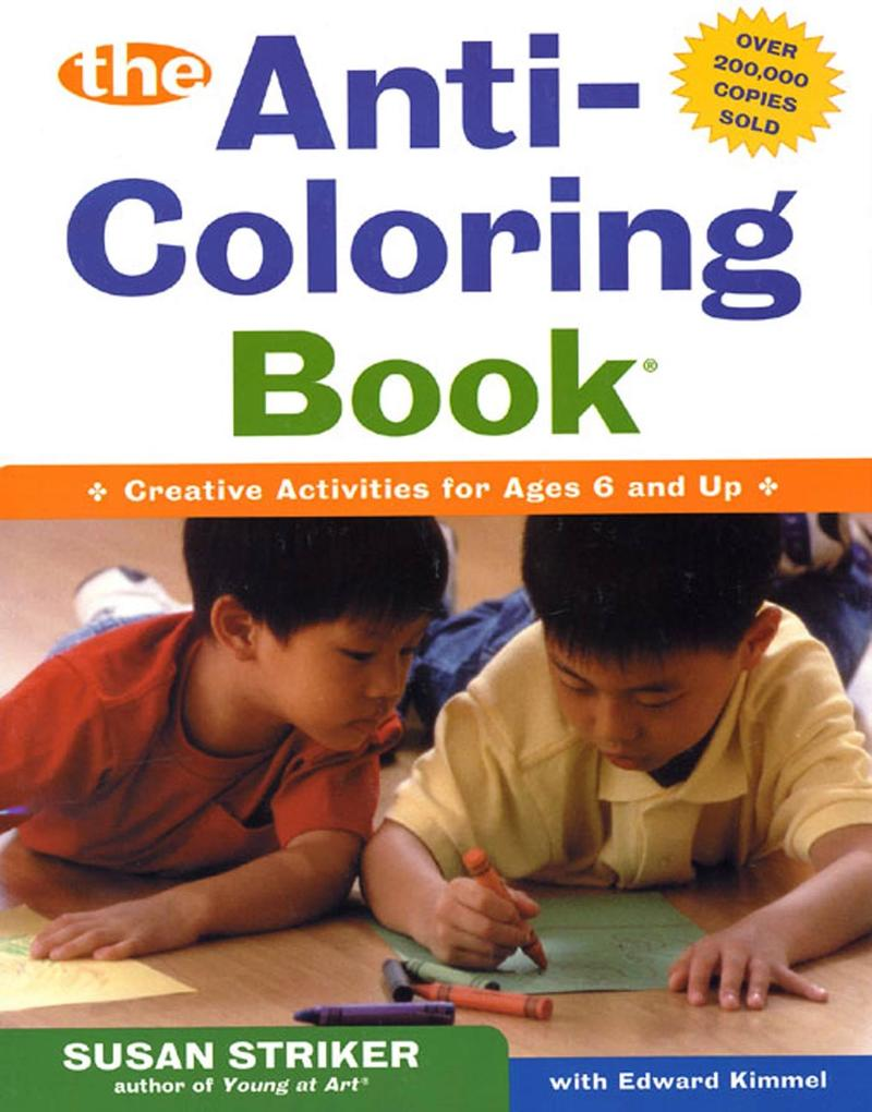 The Anti-Coloring Book als Taschenbuch
